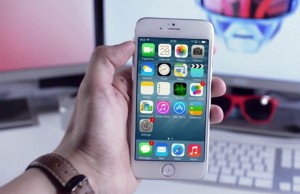 iPhone 6 met IOS 8