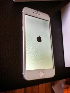 iPhone 6 opstartscherm