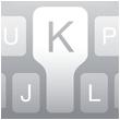 Slim toetsenbord iOS 8